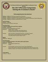 The 2017 IPR Center Symposium aSolving the E-Commerce Puzzlea