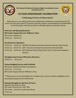 10-Year Anniversary Celebration aCelebrating 10 Years of Achievementsa