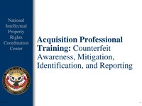 Acquisition Professional Training