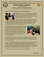 HSI Detroit hosts first IPR enforcement field training event