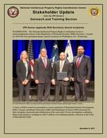IPR Center applauds DHS Secretary Award recipients
