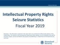 2019 Intellectual Property Rights Seizure Statistics