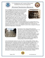 Wildlife Trafficking Fact Sheet