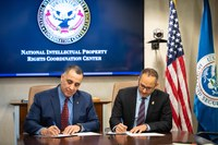 IPR Center signs MOU to combat forced labor