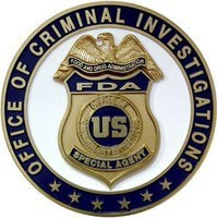 Food and Drug Administrationas (FDA) Office of Criminal Investigations (OCI)