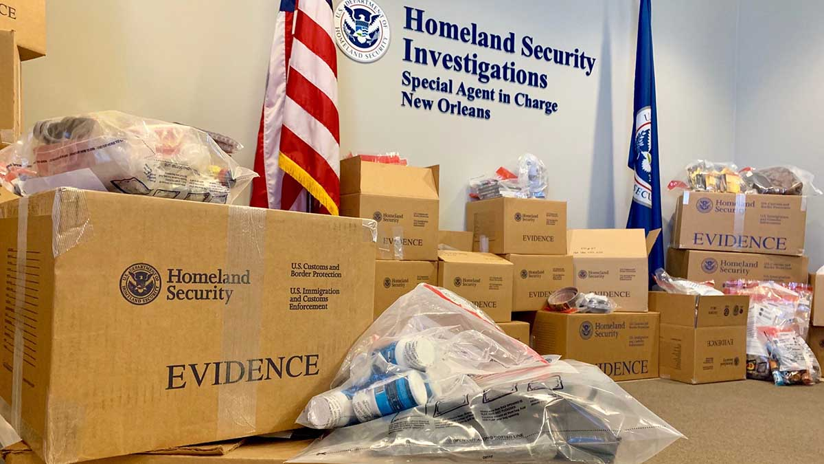 New Orleans - Goods Seized